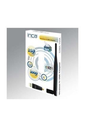 Inca Iuwa-150x 150 Mbps 11n Harici 5dbi Anten Wireless Adaptör 0