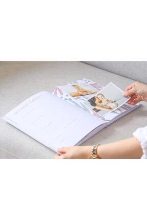 Fufizu Modern Bebek Anı Defteri - Ilk 1 Yıl Hamilelik Ve Anne Bebek Günlüğü - Ajandası + Baskı Kiti 4