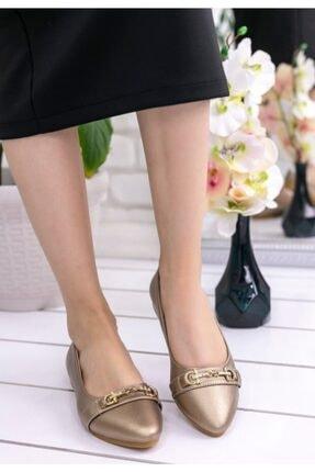 pabucmarketi Kadın Comfort Babet Günlük Ayakkabı Er148 0