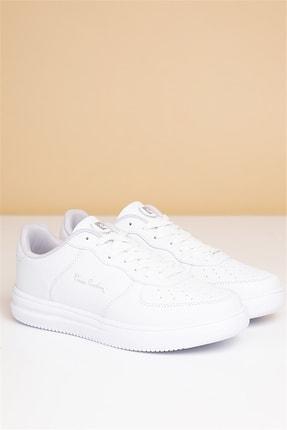 Pierre Cardin Kadın Günlük Spor Ayakkabı-beyaz 0