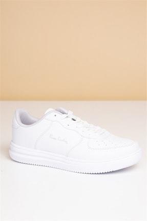 Pierre Cardin Kadın Günlük Spor Ayakkabı-beyaz 1