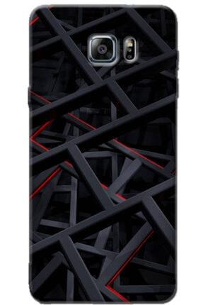 Turkiyecepaksesuar Samsung Galaxy Note 5 Kılıf Silikon Baskılı Desenli Arka Kapak 0