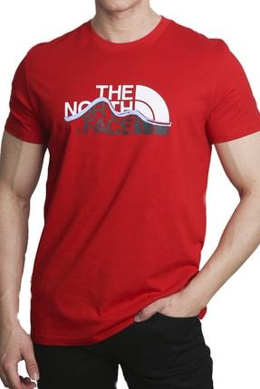 The North Face Erkek Kırmızı T-Shirt 0