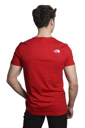 The North Face Erkek Kırmızı T-Shirt 3
