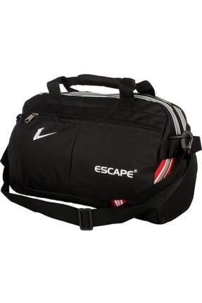 ESCAPE 112 Yeni Sezon Büyük Boy Spor Seyahat Çantası Siyah 0