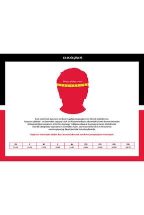 LS2 Kırmızı Rookıe Kask 1