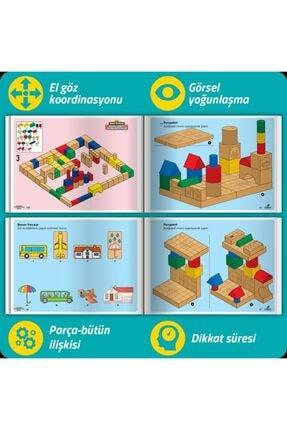Smartfox Osman Abalı Adeda Dikkati Güçlendirme Seti Plus 4 Yaş (26+106 Ahşap Materyal+3 Kitap Takım) 3