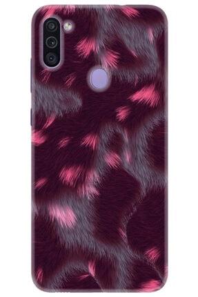Noprin Samsung Galaxy M11 Kılıf Silikon Baskılı Desenli Arka Kapak 0