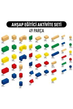 Dahiyizbiz Ahşap Eğitici Aktivite Seti 49 Parça 4