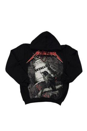 Orçun Özkarlıklı Unisex Siyah Metallica Sweatshirt 0