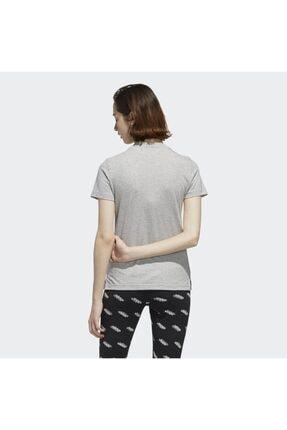 adidas Kadın Gri Circular Graphic T-shirt 4