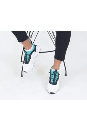 Niv Tekstil Erkek Beyaz Yeşil Macro Jamper  Spor Ayakkabı 1