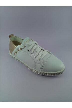 Annie Hall Kriste Bell Beyaz Kadın Spor Ayakkabı 0