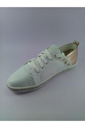 Annie Hall Kriste Bell Beyaz Kadın Spor Ayakkabı 4