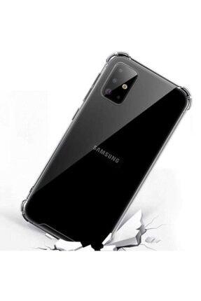 Mobilteam Samsung Galaxy S20 Anti-shock Şeffaf Kapak 0