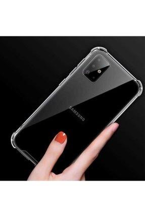 Mobilteam Samsung Galaxy S20 Anti-shock Şeffaf Kapak 2