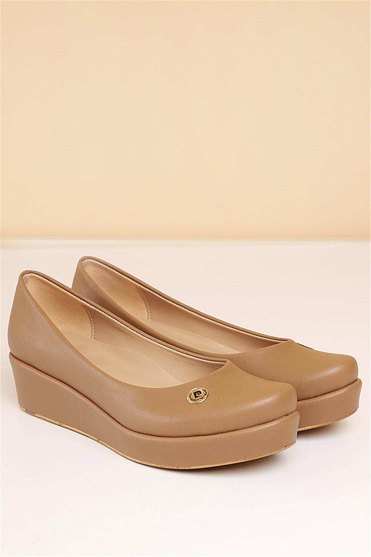 Pierre Cardin Kadın Günlük Ayakkabı-vizon