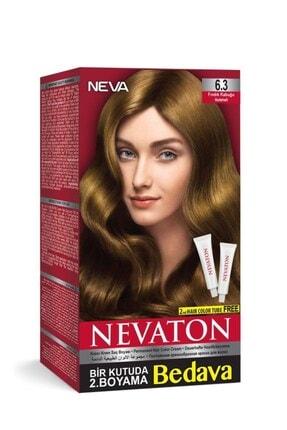 Neva Ton Saç Boyası Seti 6.3 Fındık Kabuğu 0