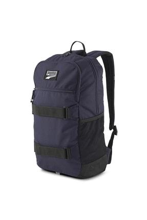 Puma Unisex Sırt Çantası - Deck Backpack Peacoat - 07690507 0