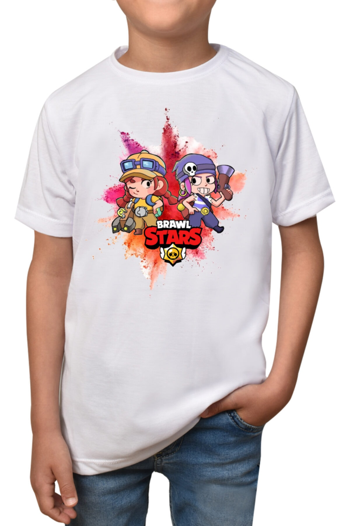 Brawl Stars - Penny-t-1- Beyaz Çocuk - Yetişkin Unisex T-shirt T-5