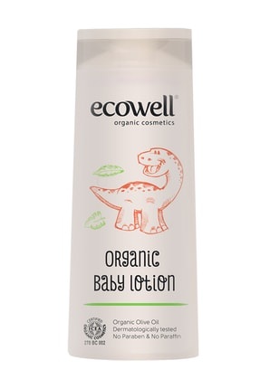 Ecowell Organik Bebe Losyonu - 300 Ml 1