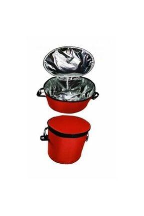 Emroto Ssangyong Xlv Oto Soğuk Ve Sıcak Tutucu Bagaj Buzluk Çanta 50 Lt Kırmızı 2