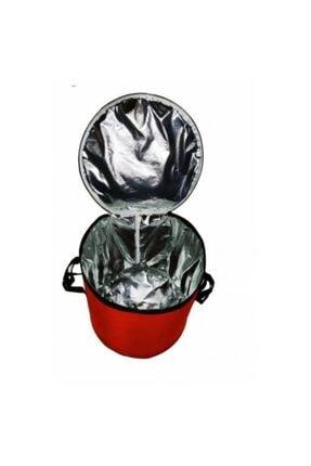 Emroto Nissan Qashqai 2014 Oto Soğuk Ve Sıcak Tutucu Bagaj Buzluk Çanta 50 Lt Kırmızı 1