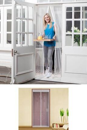 Buffer Mıknatıslı Kapı Sinekliği Beyaz Tül 0