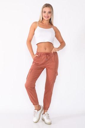 PodiumStar Kadın Bakır Kargo Pantolon 1
