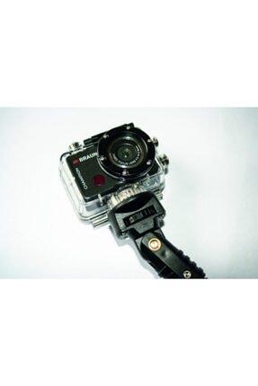Braun Siyah Selfie Stick Su Altı Çekimleri Monopod 2