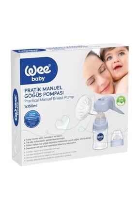Wee Baby Pratik Manuel Göğüs Pompası Ve Biberon 1