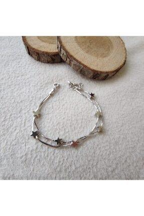 ARGON JEWELLERY 925 Ayar Yıldız Figürlü Kadın Gümüş Bileklik 2