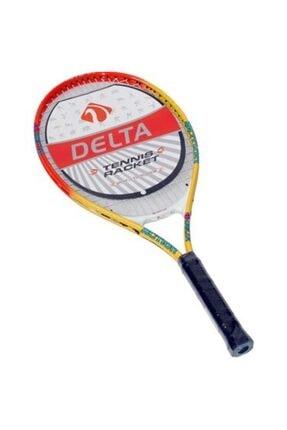 Delta Max Boys 23 Inç Komple Çantalı Kort Çocuk Tenis Raketi 0