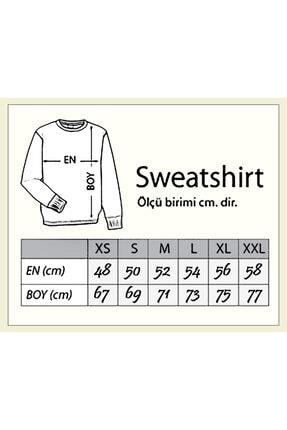 Darkia Erkek Beyaz Leicester City Baskılı Uzun Kollu Sweatshirt 1