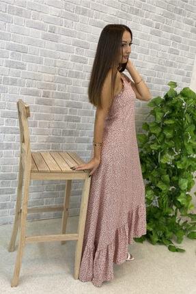Jolenth Çiçekli Askılı Elbise 0