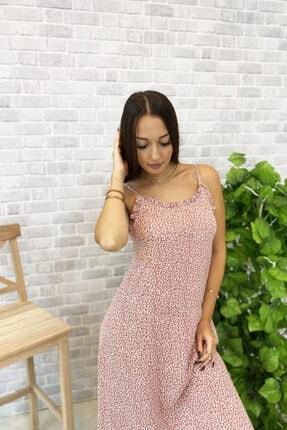 Jolenth Çiçekli Askılı Elbise 1