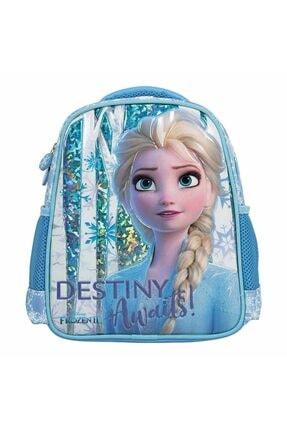 DİSNEY Kız Çocuk Mavi Frozen Anaokulu Çantası  5104 0