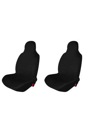 1araba1ev Peugeot 407 Araç Servis Atlet Kılıf Penye Ön 2 Koltuk Siyah 0