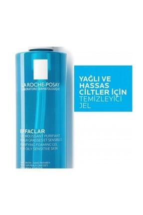 La Roche Posay Effaclar Jel Temizleme Jeli Yağlı/Akneye Eğilim Gösteren Ciltler 400 ml 3337872411991 1