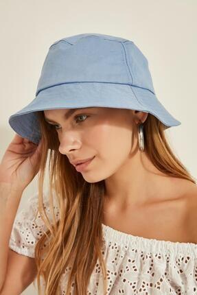 Y-London 13372 Bebe Mavi Bucket Şapka 1