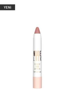 Golden Rose Kremsi Işıltılı Ruj - Nude Look Creamy Shine Lips No:03 Peachy Nude 8691190967345 1