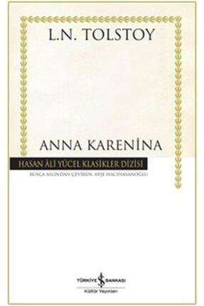 İş Bankası Kültür Yayınları Anna Karenina Hasan Ali Yücel Klasikler 0