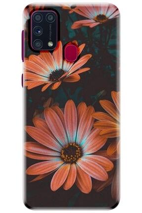 Turkiyecepaksesuar Samsung Galaxy M31 Kılıf Silikon Baskılı Desenli Arka Kapak 0