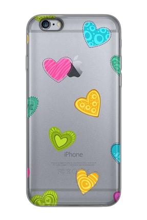 Mobilteam Apple Iphone 6s Space Gray Baskılı Silikon Telefon Kılıfı 0