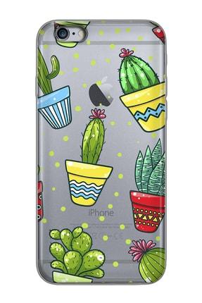 Mobilteam Apple Iphone 6 Plus Space Gray Baskılı Silikon Telefon Kılıfı 0