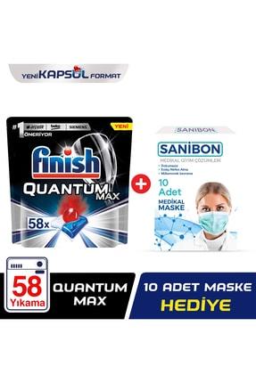 Finish Quantum Max 58 Kapsül + 10'lu Maske 0