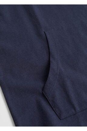 Mango Erkek Çocuk Lacivert Önden Cepli Sweatshirt 3