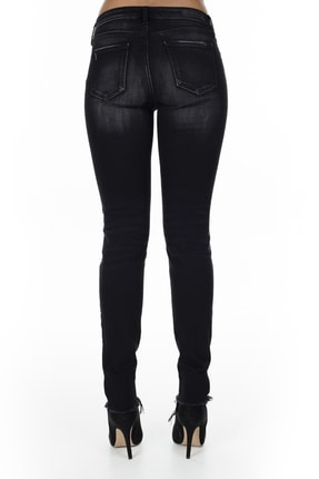Armani Exchange Kadın Siyah Jeans Kot Pantolon J01 3