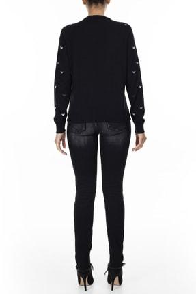Armani Exchange Kadın Siyah Jeans Kot Pantolon J01 4