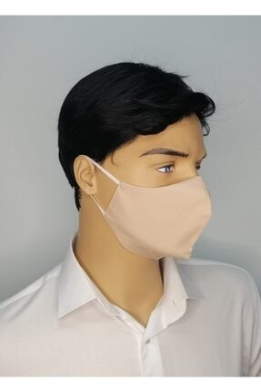 ANKA MASKE Beyaz Yıkanabilir Koruyucu Yüz Maskesi 0